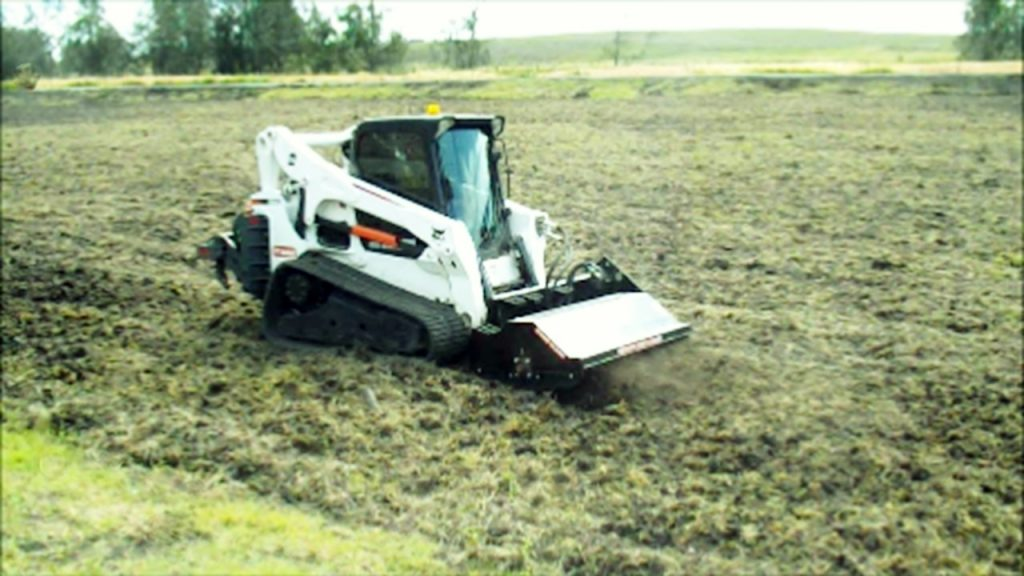 Environmental Services Rotary hoe